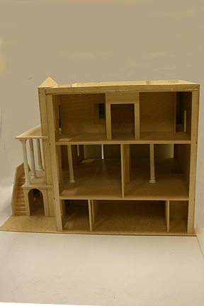 15002 1&quot; scale majestic mansions palace right side