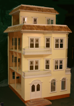 "4002 1"" scale majestic mansions darlington yellow"