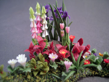 a2339s 1/2&quot; scale corner flower bed