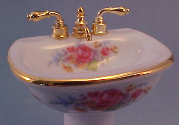 Reutter Dresden Rose Sink