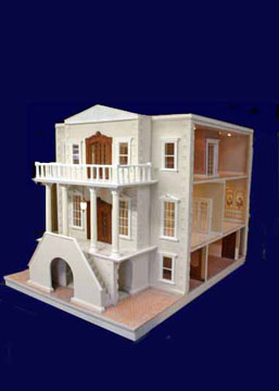"Majestic Mansions 1"" Scale Palace Dollhouse Kit"