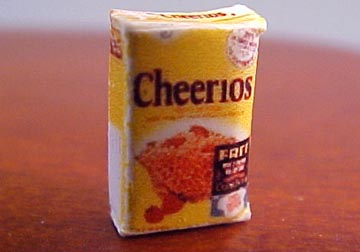 1/2&quot; Scale Miniature Box Of Cereal