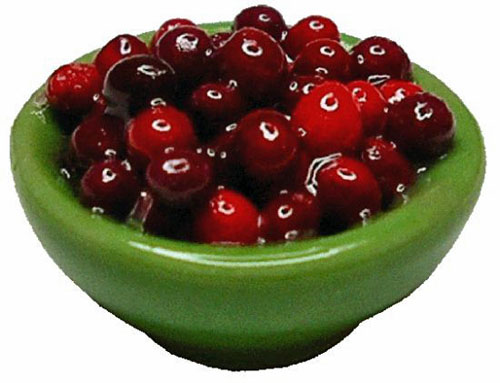 Bright deLights Cherries In A Green Bowl 1:12