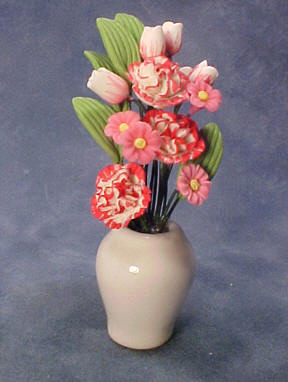 "Bright deLights 1"" Scale Carnations and Tulips"