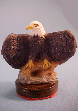 Falcon 1&quot; Scale Eagle Statue