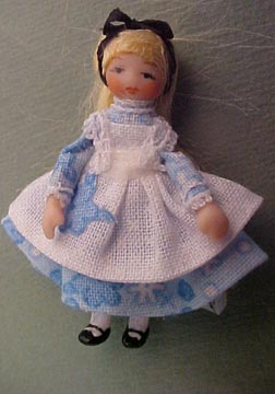 "Ethel Hicks 1"" Scale Alice Doll"