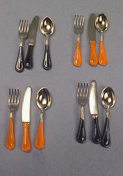 1&quot; Scale Halloween Flatware