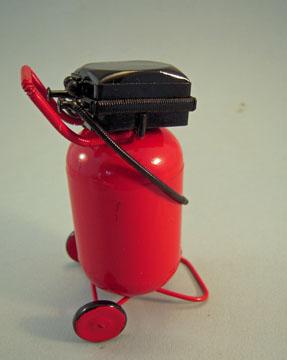 """1"""" Scale Miniature Shop Air Compressor"""