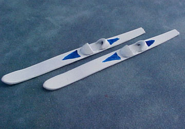"1/2"" Scale Miniature Water Skis"