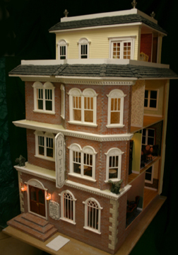 "Majestic Mansions 1"" Scale Darlington Dollhouse Kit"