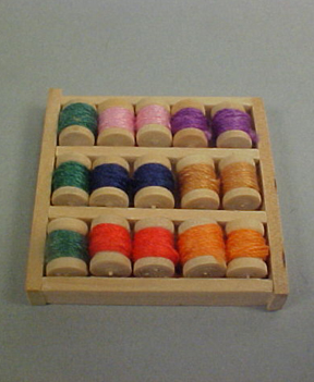 "1"" Scale Thread Shelf"