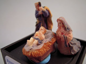"1"" Scale Three Piece Nativity Set"