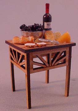 Fabulous 1/2&quot; My Minis Filled Cheese and Wine Table