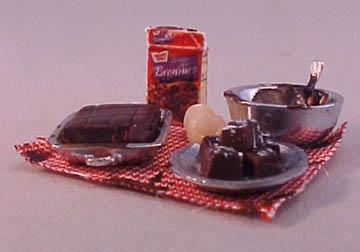 "My Minis 1/2"" Scale Brownies Preparation Board"
