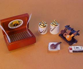"1"" Scale Tobacco Set"