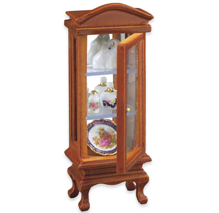 Reutter Porcelain Filled Glass Display Cabinet 1:24