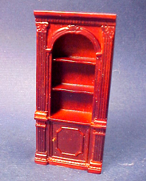 Bespaq 1/2&quot; Scale Mahogany Randall Single Bookcase 