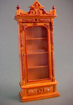 "Bespaq 1/2"" Scale Miniature Hand Painted Banker's Bookcase"