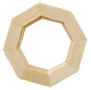 "Houseworks 1/2"" Scale Octagon Window"