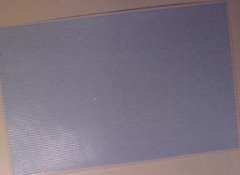 "1/2"" Scale Blue Hexagon Wall or Floor Tile"