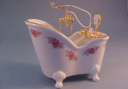Reutter Dresden Rose Soaking Tub