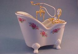 Reutter Dresden Rose Soaking Tub