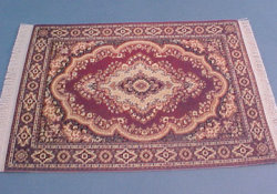 "1/2"" Scale Sienna Medallion Carpet"