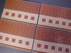"""1/2"""" Scale Spanish Wall Tile"""