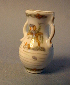 "JBM 1"" Scale Oriental Vase With Handles"
