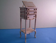 "1"" Scale Bespaq Unfinished Library Stand"