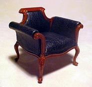 "Bespaq 1"" Scale Walnut Shoe Department Chair"