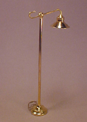 "1"" Scale Brass Bridge Lamp"