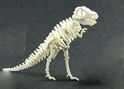 "Wendy's Miniatures 1"" Scale Hand Crafted Tyrannosaurus Rex (T. rex) Dinosaur Model"