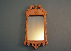 "Bespaq 1"" Scale Colonial Unfinished Wall Mirror"
