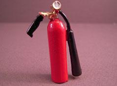Island Crafts Metal Large Fire Extinguisher 1:12