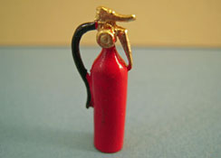 "1/2"" Scale Miniature Fire Extinguisher"