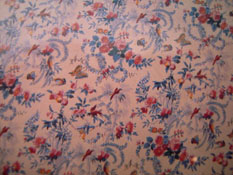 "1/2"" Scale World Model Floral Wallpaper"