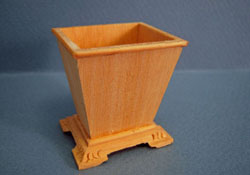 "Bespaq 1"" Scale Miniature Unfinished Waste Basket"