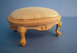 "1"" Scale Bespaq Unfinished Seamstress Stool"