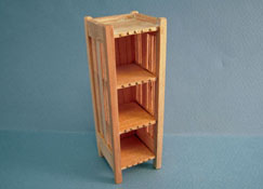 "Bespaq 1"" Scale Unfinished Mission Style Bookcase"