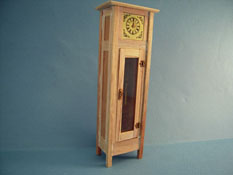 "Bespaq 1"" Scale Unfinished Mission Grandfather Clock"