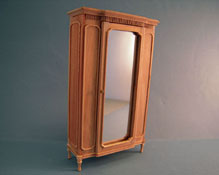 "Bespaq 1"" Scale Louis XVI Unfinished Armoire"