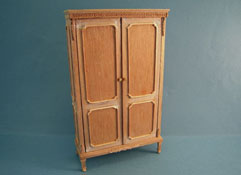 "Bespaq 1"" Scale ""Classique"" Unfinished Armoire"