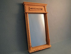 "Bespaq 1"" Scale ""Classique"" Unfinished Wall Mirror"