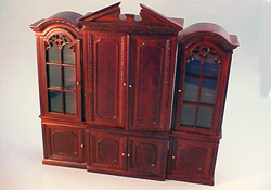 "1"" Scale Bespaq ""Gallery"" Bookcase Set"