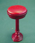 "Bespaq 1"" Scale Mahogany Cafe Stool"