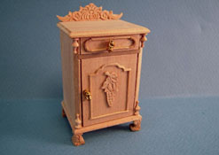 "1"" Scale Bespaq ""Natchez"" Unfinished Bedside Table"