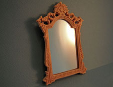 "1"" Scale Bespaq Unfinished ""Versailles"" Wall Mirror"