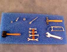 "1"" Scale Automotive Tool Set"