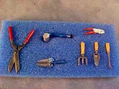 """1"""" Scale Garden Tool Set"""